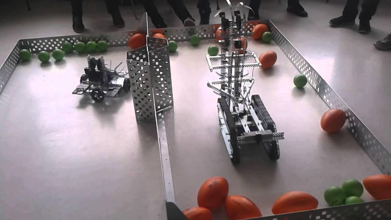 Vex Robotics Ball Game Swept Away Youtube