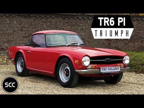 TRIUMPH TR6 PI 1978 - Modest test drive - Engine sound   SCC TV