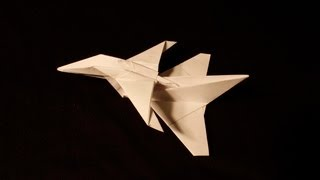 Jas Gripen paper airplane tutorial