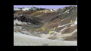 Alive: Flight 571 crash site in Google Earth