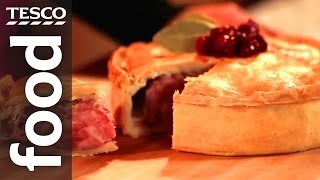 How To Make A Christmas Pork Pie | Tesco Food