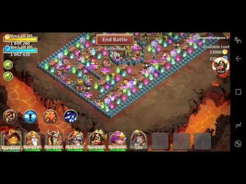 Insane 2-1 3 Flame Castle Clash