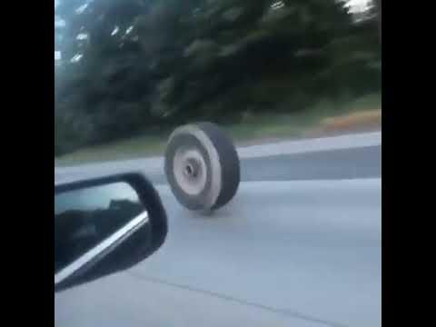 Deuce - Runaway Tire Causes Major Damage On Highway