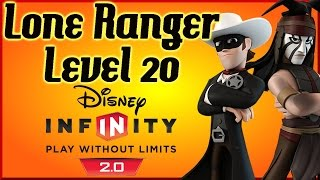Disney Infinity Lone Ranger level 20 Skill Tree By DisneyToyCollector