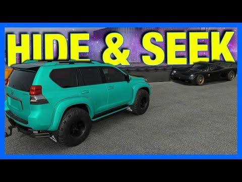 Forza 7 Online : HIDE & SEEK!!