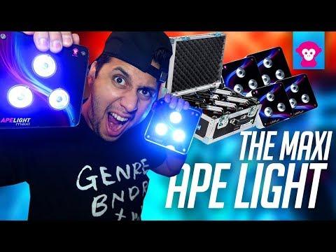 Product Spotlight: Mobile DJ Uplighting | APE LABS MAXI (Ape Lights)