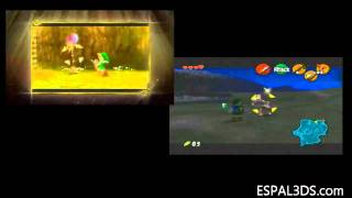 Gameplay Comparativo Zelda Ocarina Of Time 3DS Vs N64