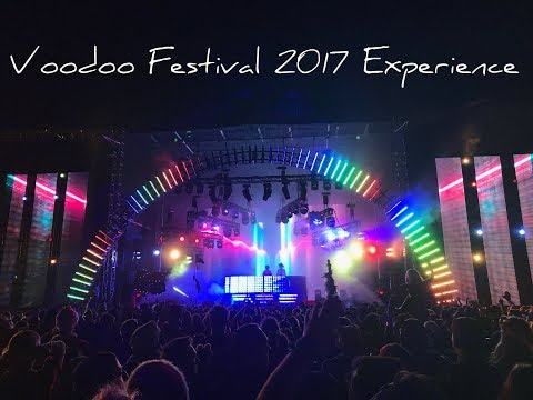 Voodoo Music and Arts Festival 2017!!!