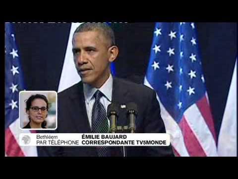 Obama Et Le Processus De Paix : Les Réactions En Palestine