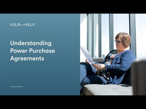 Understanding Power Purchase Agreements