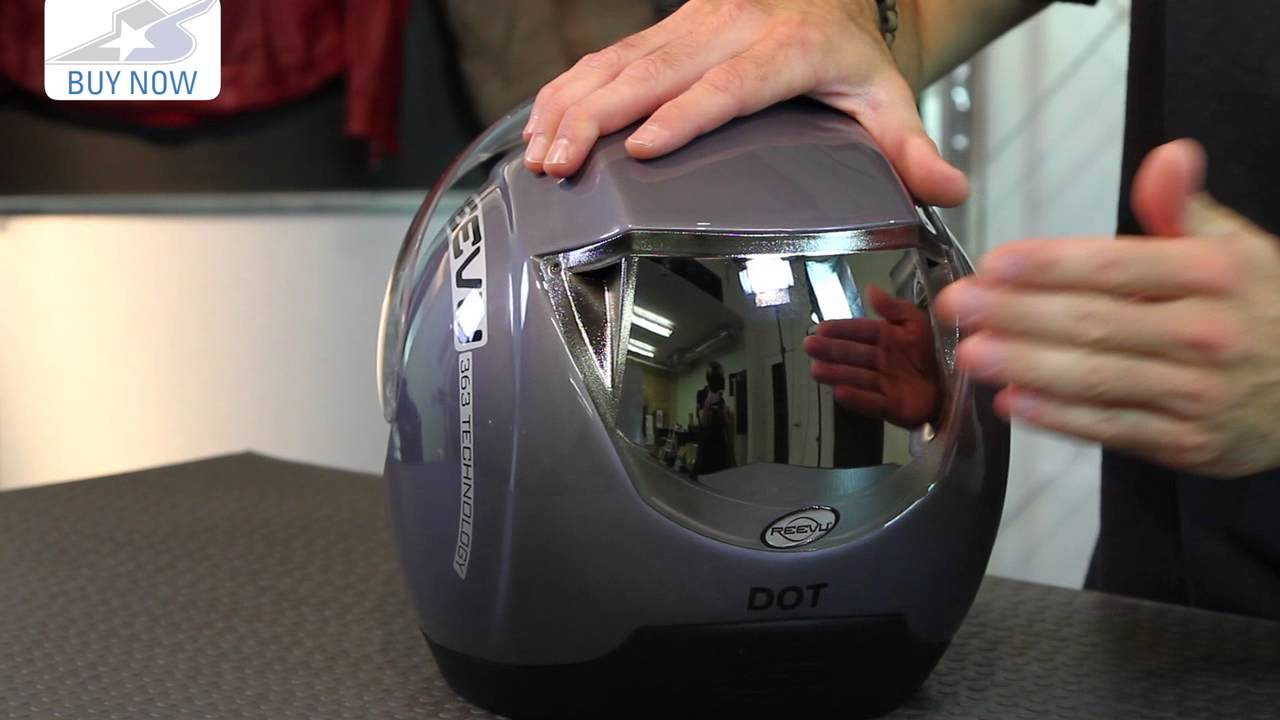 Reevu Msx1 Rear View Helmet Motorcycle Superstore Youtube