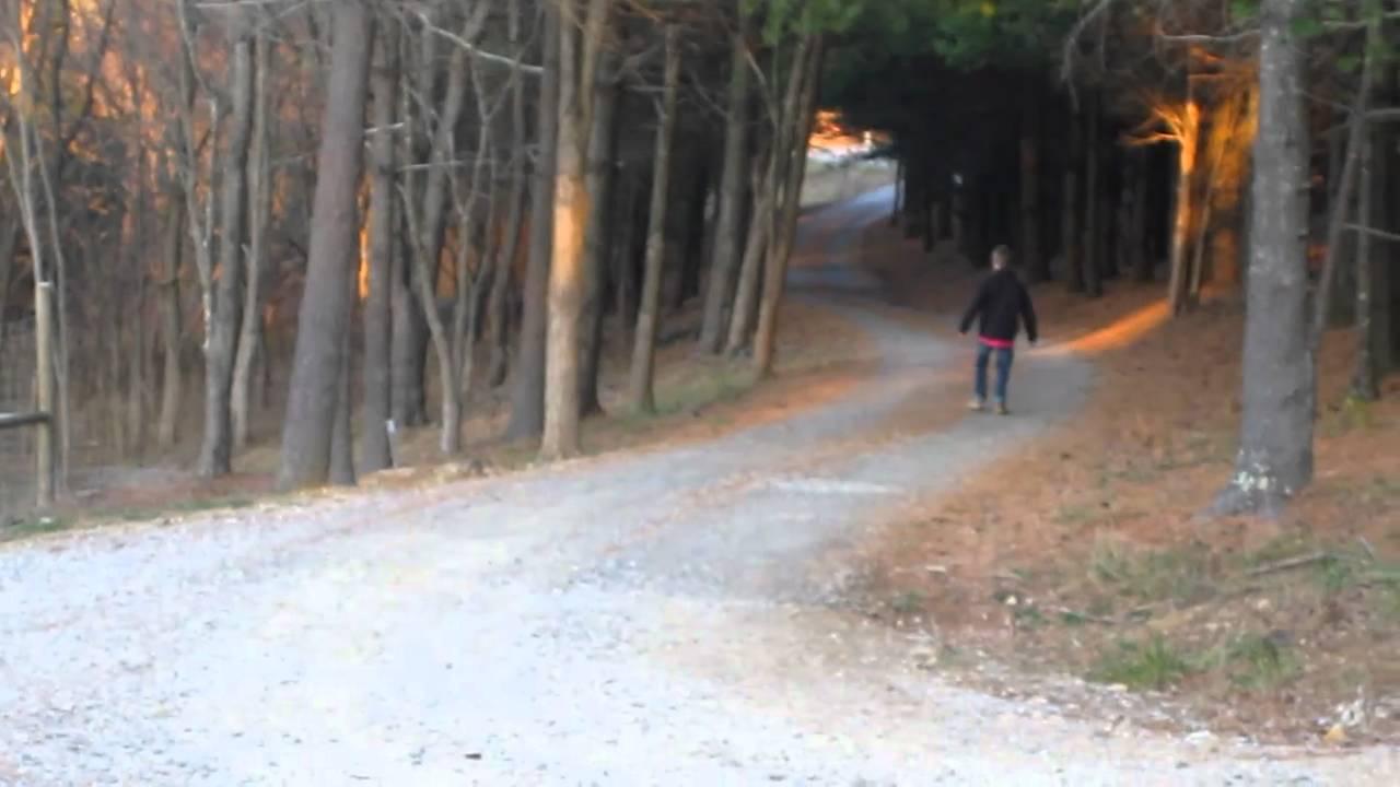 slenderman in the woods