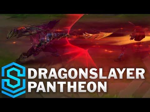 Dragonslayer Pantheon 2019 Skin Spotlight - League of Legends