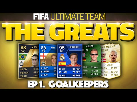 FIFA ULTIMATE TEAM - 'THE GREATS' - BEST GOALKEEPERS! (RETRO FUT 11, 12, 13, 14 & 15!)
