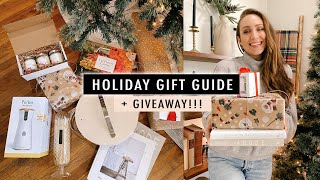 HOLIDAY GIFT GUIDE 2020 + GIVEAWAY! (Thoughtful GIFTS They'll Love) | XO, MaCenna