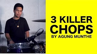 3 KILLER CHOPS BY AGUNG MUNTHE | drumNDRUM MP3