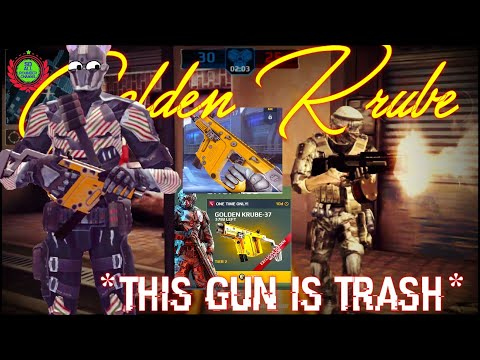 *Golden Krube* This Gun Is Trash 😤 Waste Of Money| New Gold Weapon Krube Gameplay