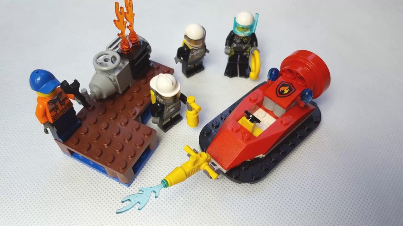 Lego City 60106 straż pożarna fire starter set