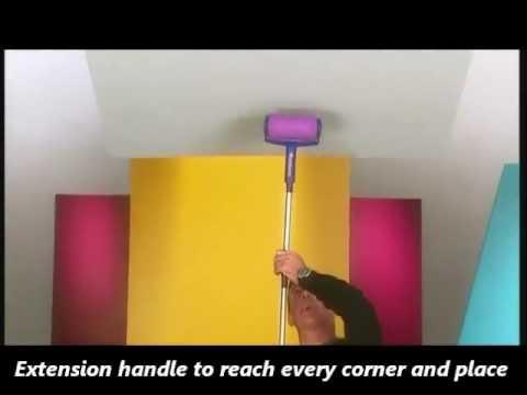 paint runner pratik duvar boyama seti doovi. Black Bedroom Furniture Sets. Home Design Ideas