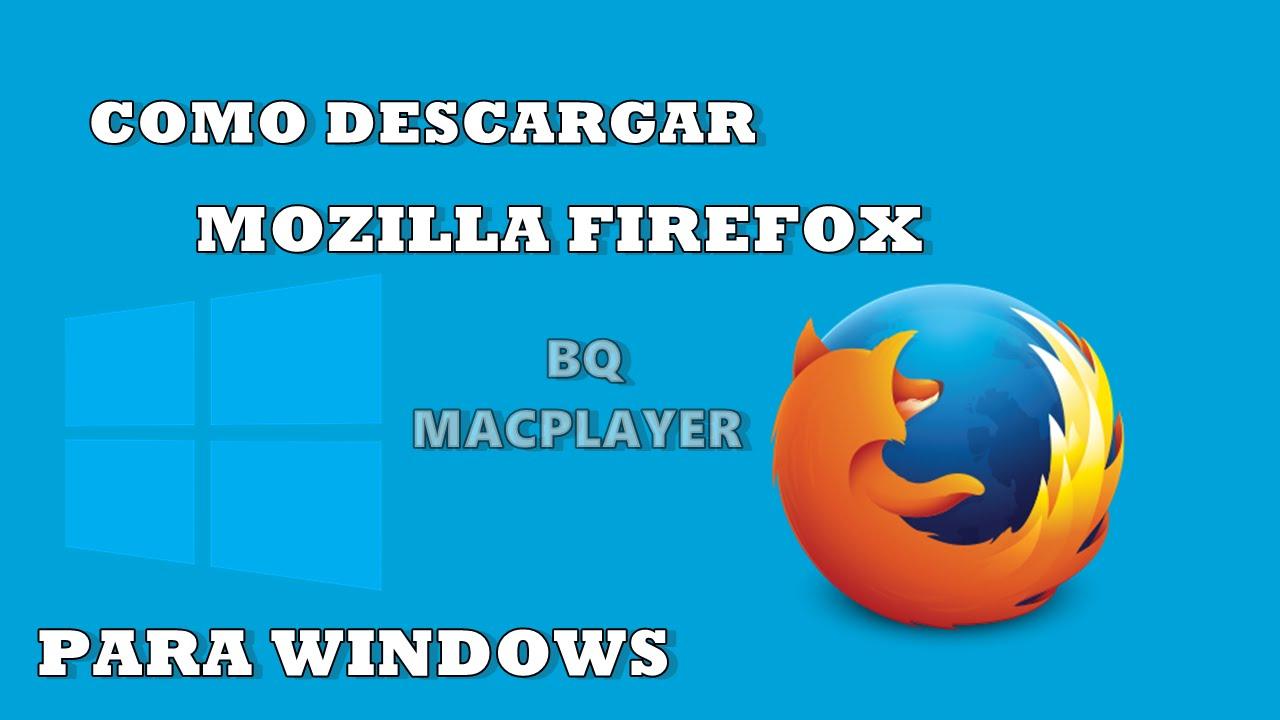 mozilla firefox para descargar gratis