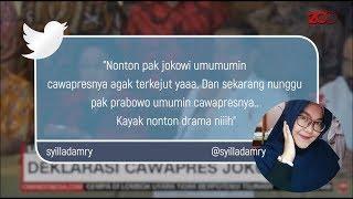 Surprise! Netizen Terkejut Ma'ruf Amin Jadi Cawapres Jokowi