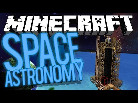 Minecraft Space Astronomy - OIL POWER, QUARRY & WORLD