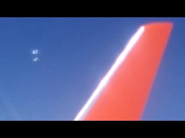 Resultado de imagem para Passageiro filma objeto misterioso que se quebrou em 6 peças