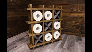 Toilet paper holder | Держатель для туалетной бумаги