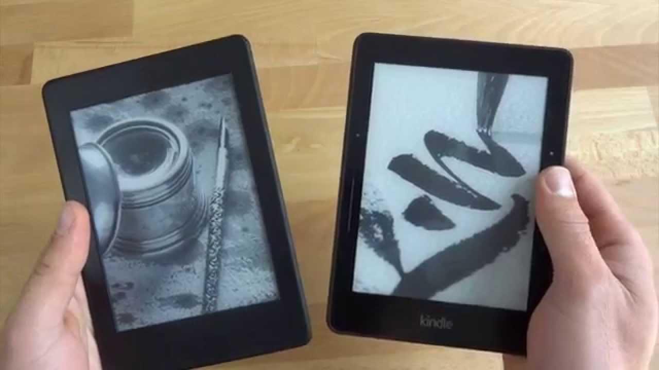 Kindle Vs Sony Reader: Kindle Paperwhite 3 (2015) Vs. Kindle Voyage