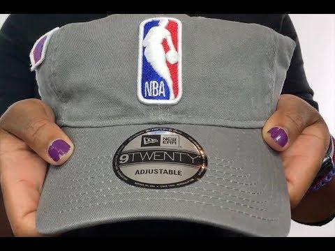4520a1e1fb9877 Logoman '2018 NBA DRAFT STRAPBACK' Grey Hat by New Era - YouTube
