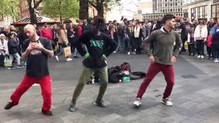 Live; London's street dance, breakdance - GANGNAM style PSY HD