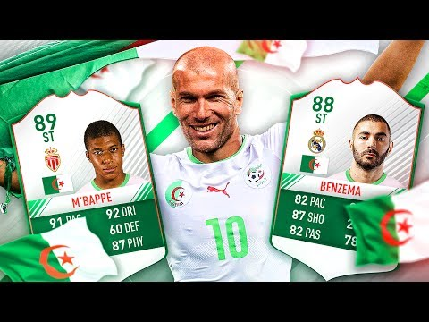 THE ALGERIAN ZIDANE! THE BEST EVER ALTERNATE ALGERIA SQUAD! FIFA 17 ULTIMATE TEAM