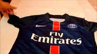 UNBOXING- PSG- HOME 15/16