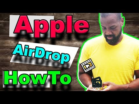 How to Use AirDrop to Send  Files On iPhone, iPad or Mac Instantly STEP BY STEP