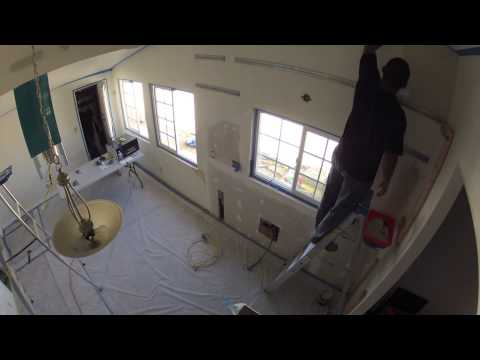 Kitchen Remodeling - Day 9 of 17 - Drywall, Painting, Cabinet ...