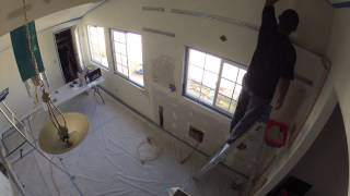 Kitchen Remodeling - Day 9 Of 17 - Drywall, Painting, Cabinet Installation, Plumbing
