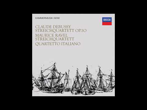 Claude Debussy String Quartet in G minor / Quartetto Italiano (1966/2016)