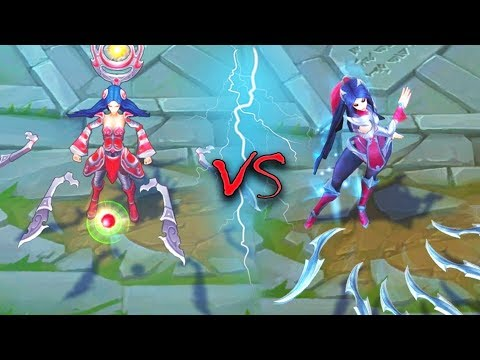 IRELIA ALL SKINS Old VS New Comparison Rework - League of Legends