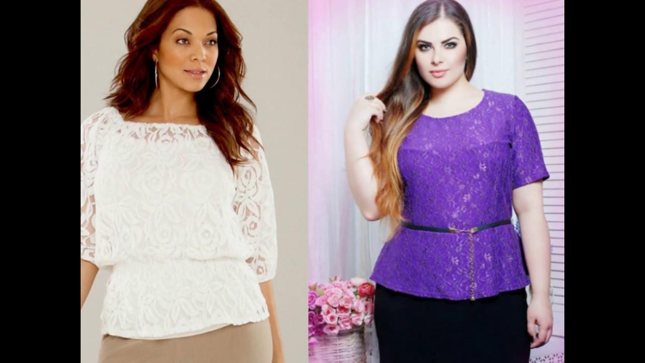 Блузки для полных женщин которые их стройнят выкройка фото 348