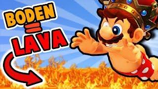 Der BODEN ist LAVA Challenge 2.0 🌋 Mario Odyssey 🔥