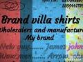 Brand villa shirts manufacturers delhi