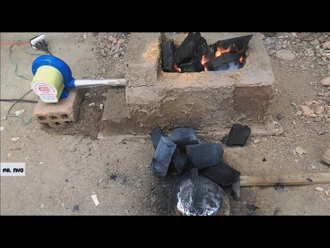 How to Make a Simple Forge - DIY  Forge - DIY Building a forge