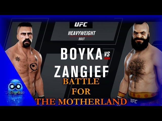 EA SPORTS UFC 3 - Yuri Boyka v Zangief | Epic Battle for the Motherland