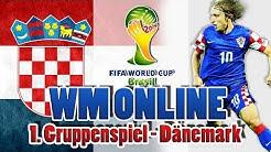 FIFA 14   WM Online 2014 [PS3] KROATIEN - 1.Spiel Dänemark - #WM2014