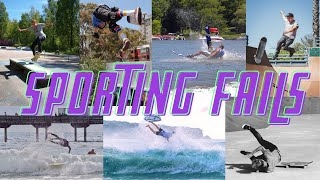 Best and Funniest Sporting Fails caught on Film🏂🎿🏄🛹😆😂