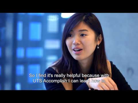 Accomplish Award at University of Technology Sydney - Summer at UTS