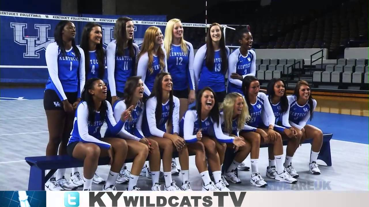Kentucky Wildcats Tv Volleyball Photo Day 2013 Youtube
