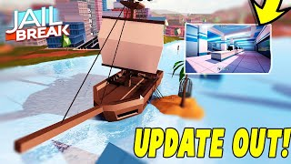 🔴JAILBREAK ROBLOX PIRATE SHIP UPDATE IS OUT! NEW AIRPORT,NEW SECRET ITEM| Roblox Live Stream🔴
