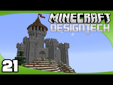 DesignTech - Ep. 21: Inner Towers | Minecraft Custom Modpack Let's Play