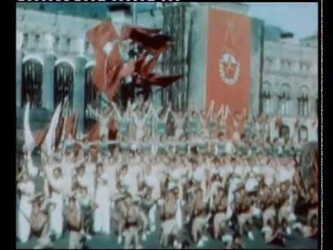1938_0501 Парад физкультурников